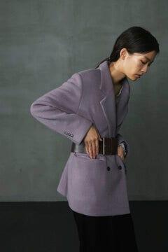 ウールダブルブレストジャケット