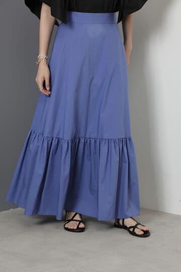 【先行予約 7月下旬-8月上旬入荷予定】ティアードマキシスカート