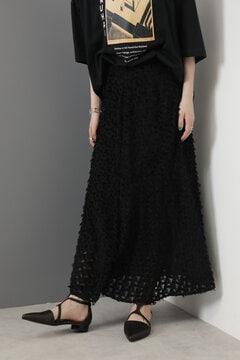 カットジャカードマーメイドスカート