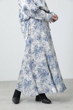 【先行予約 10月上旬-10月中旬入荷予定】クラシックフラワースカート