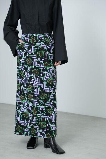 【先行予約 11月下旬-12月上旬入荷予定】エスニックプリントスカート