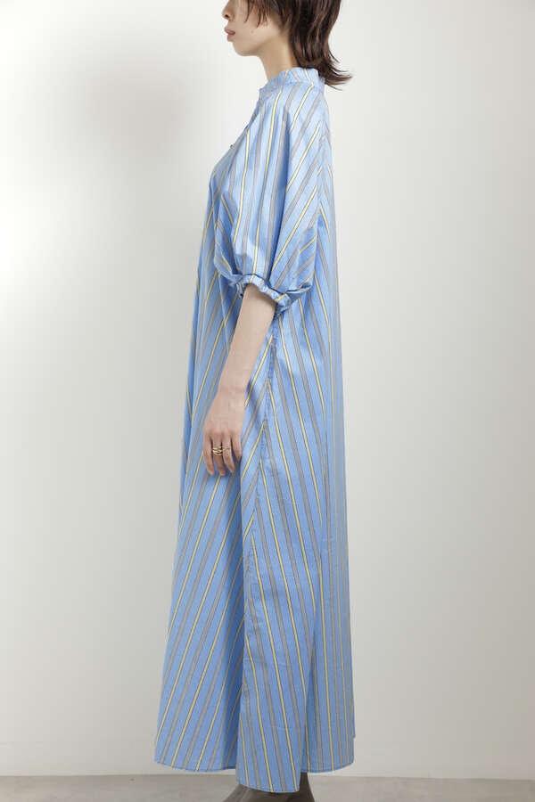 袖ボリュームトラペーズドレス