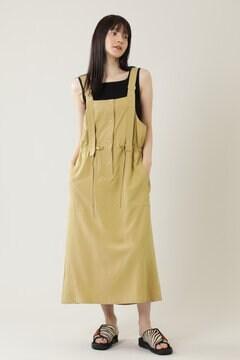 【先行予約 4月中旬-4月下旬入荷予定】ワークポケットロングジャンパースカート