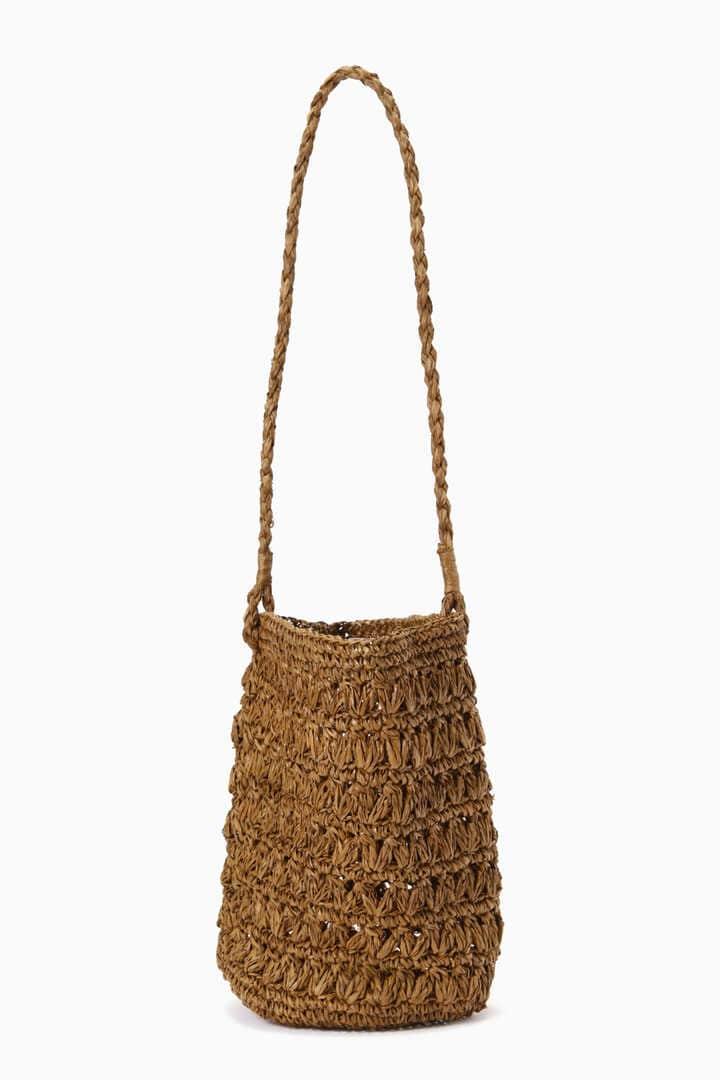 編みショルダーバッグ