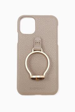 天然石リング iPhone XR/11ケース
