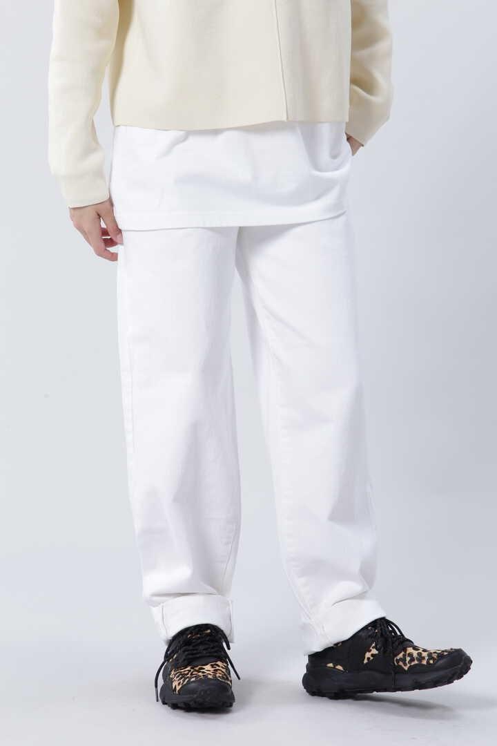 ホワイトトラウザーパンツ
