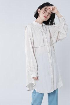 ケープ付きシャツ