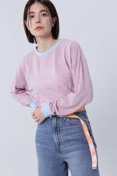 ボーダーロングTシャツ