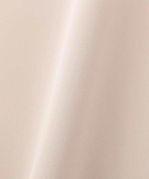 [洗える]ハートネック半袖ブラウス