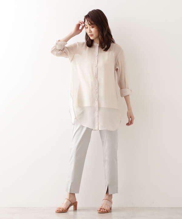 ブライトシアーチュニックシャツ