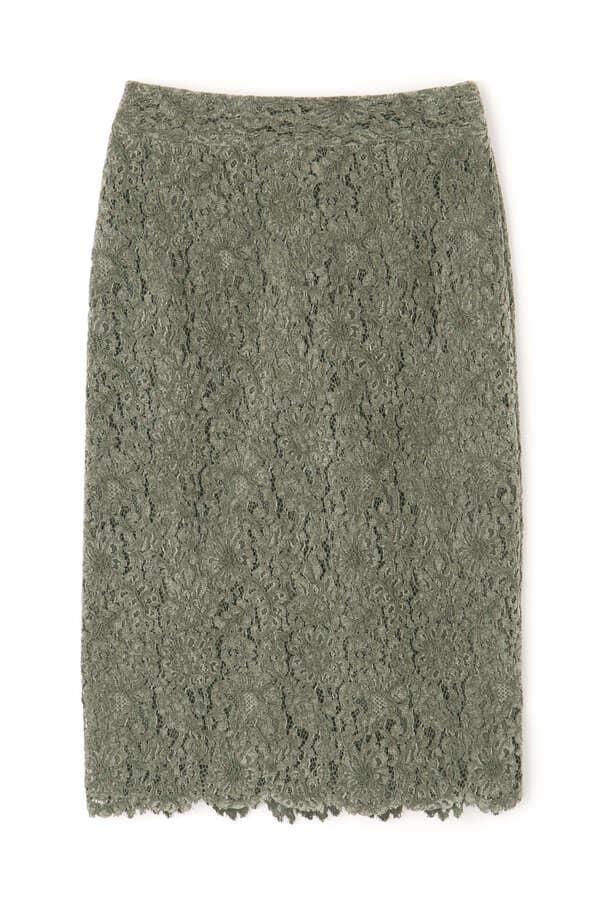 モールレースタイトスカート