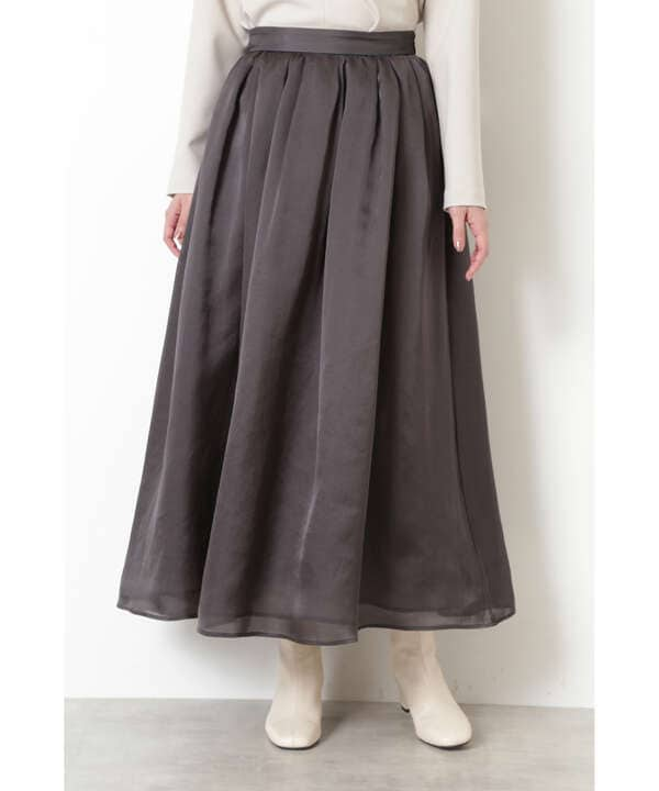 《神山まりあさんコラボ》ボリュームフレアスカート