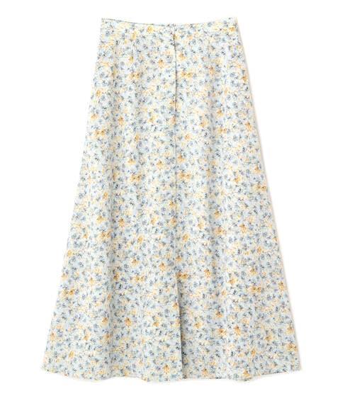 【先行予約2月中旬-下旬入荷予定】フラワープリントスカート