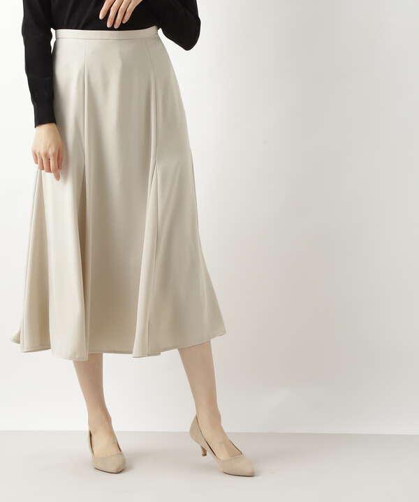 [洗える]ゴアードフレアスカート