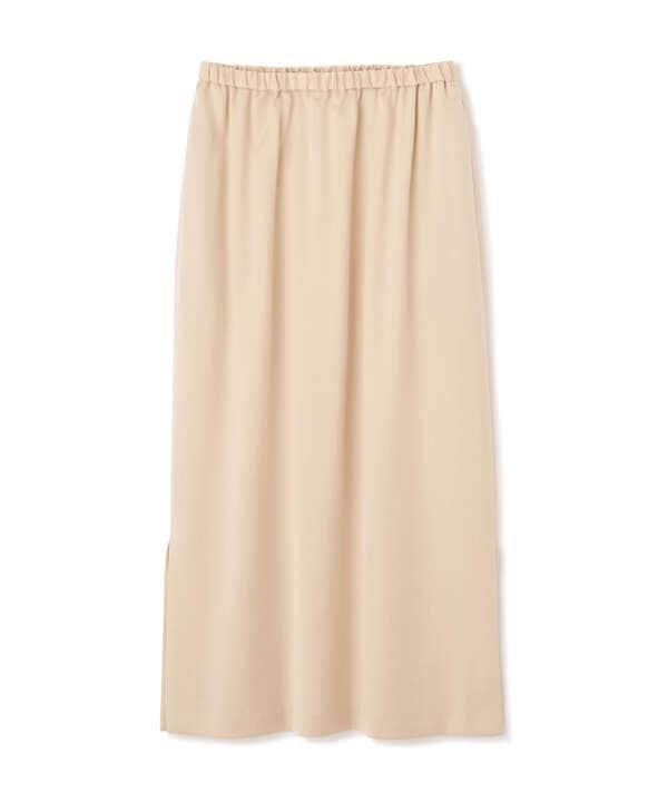 [洗える]サテンナロースカート