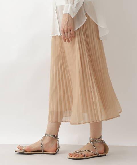 シアープリーツスカート