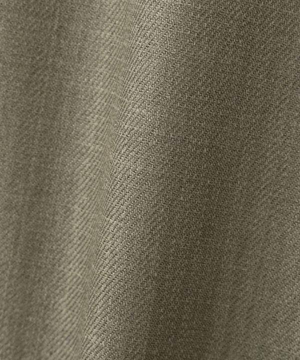 [洗える]リネンライクアシメナロースカート