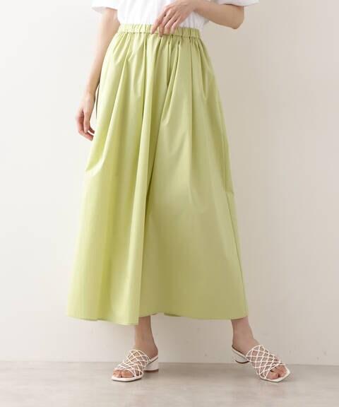 [洗える]タイプライターマキシスカート