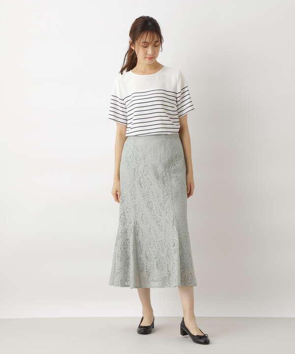 レースパネルスカート