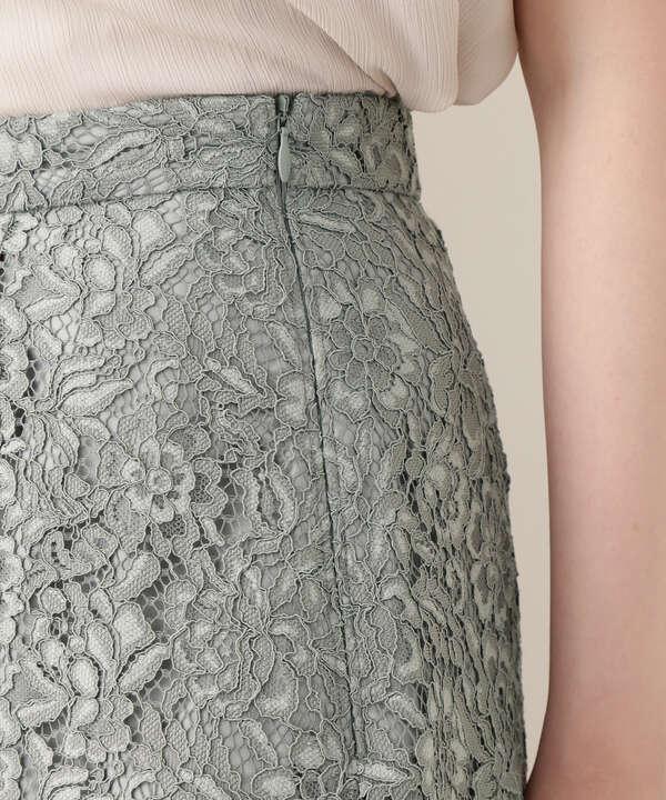 Aラインレーススカート
