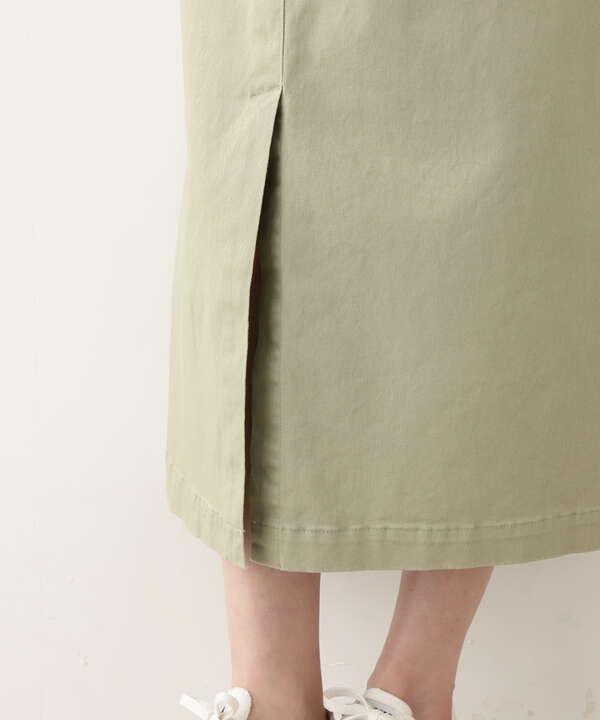 [洗える]サス付きナロースカート