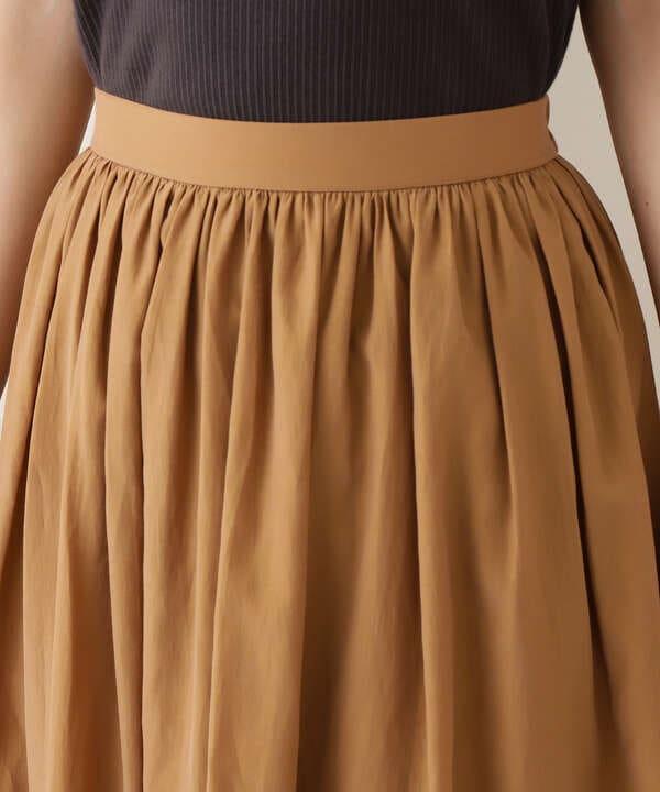 【Petit LUXE】シャンブレーギャザースカート