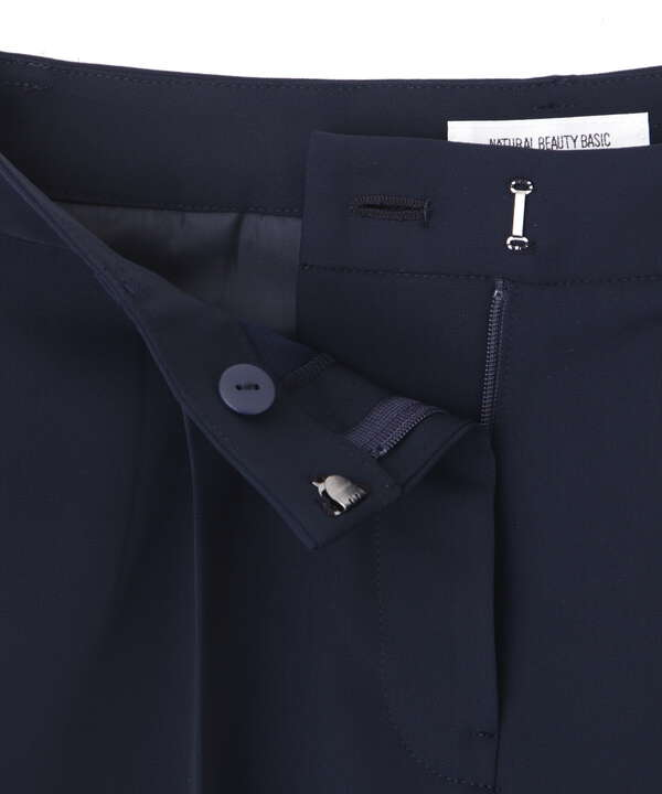 [洗える]ポリエステルドビーセットアップ パンツ