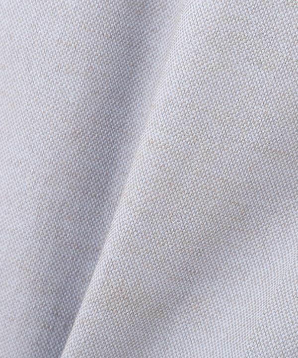[洗える]サイドボタンオックスパンツ