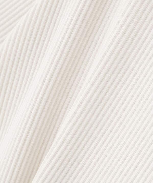 ドッキングドットプリントワンピース五分袖