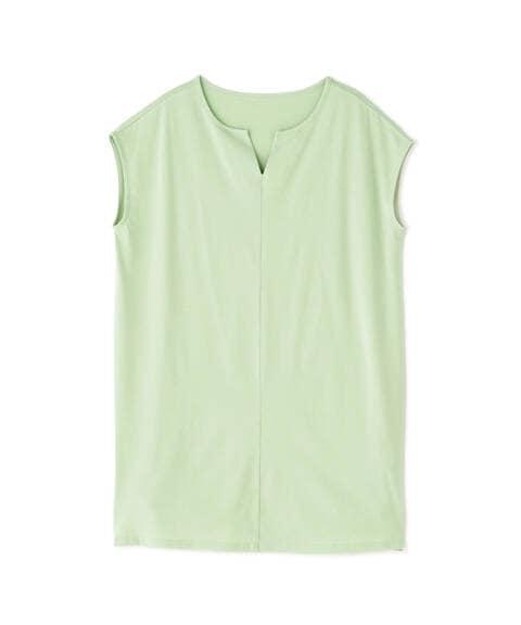 【Lounge】サイドスリットチュニックTシャツ