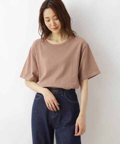サマーベーシックニットTシャツ