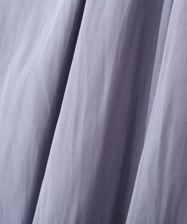 [洗える]フロント釦フレンチブラウス