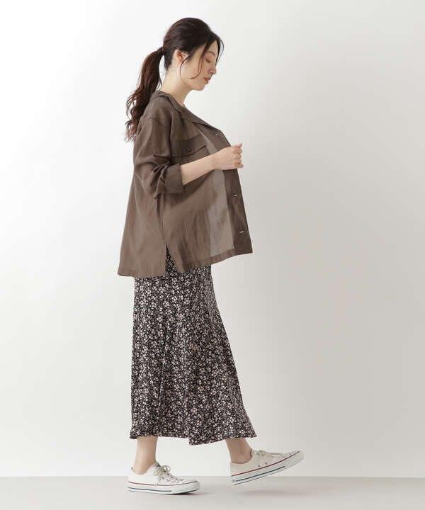 シアーシャツブルゾン