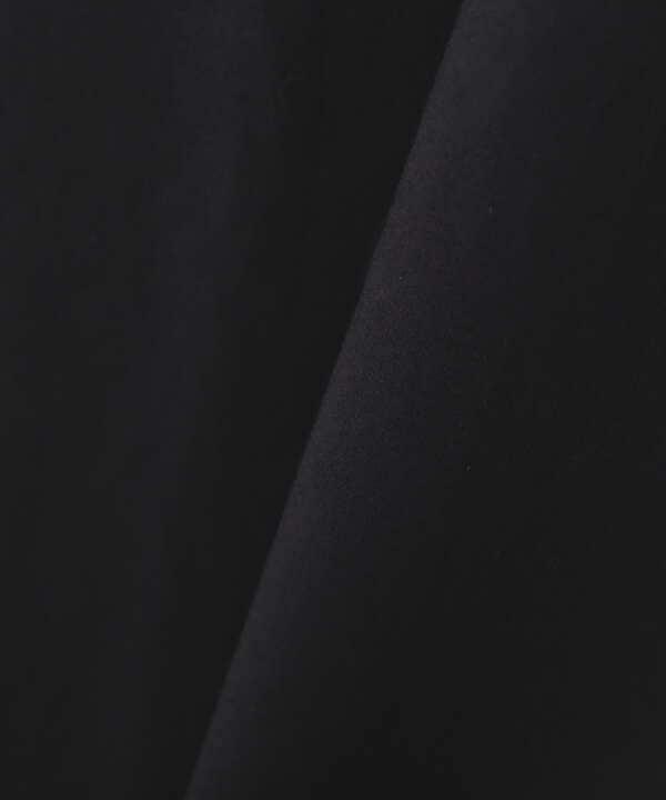 [洗える]オーガニックコットンフリルカラーチュニックブラウス