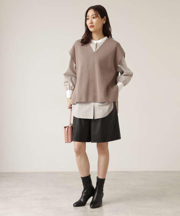 クレリックフォルムシャツ