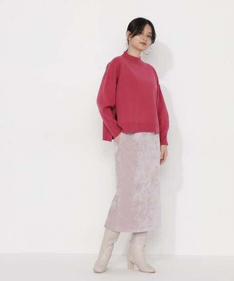【先行予約10月中旬-10月下旬入荷予定】別珍シャンブレーナロースカート