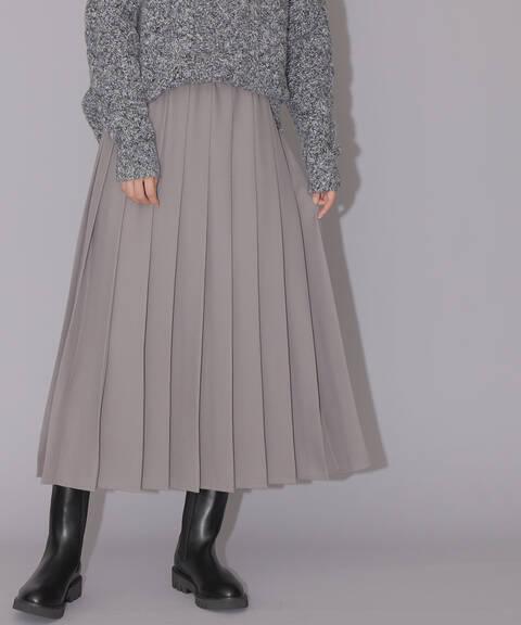 【先行予約10月下旬-11月上旬入荷予定】ドライタッチプリーツスカート