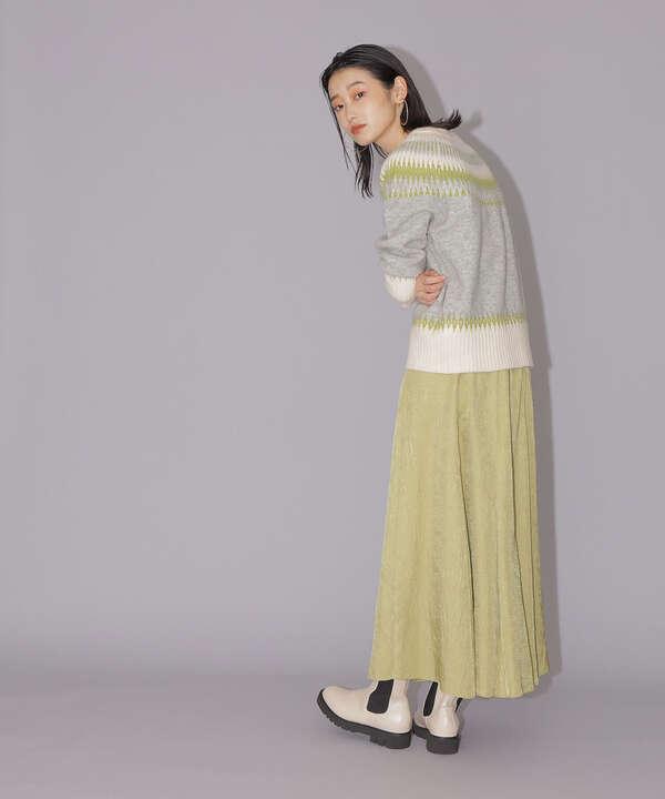 クリンクルツイルギャザースカート