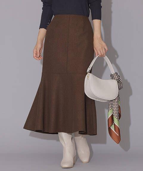 【先行予約10月下旬-11月上旬入荷予定】【Petit LUXE】マーメイドスカート