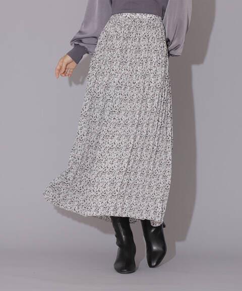 【先行予約11月上旬-11月中旬入荷予定】親子プリーツプリントスカート