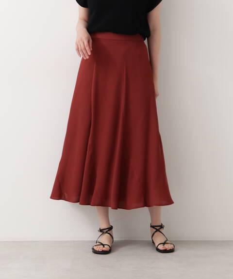 [洗える]エスカルゴフレアスカート