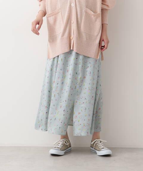 【先行予約7月上旬-7月中旬入荷予定】リバティプリントスカート