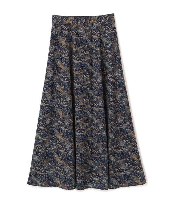 ペイズリープリントスカート