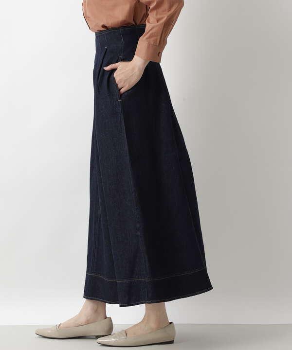 デニムスカート インディゴ