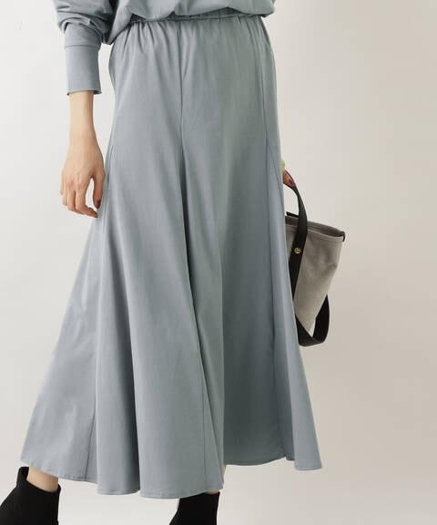 天竺カットソーセットアップ スカート