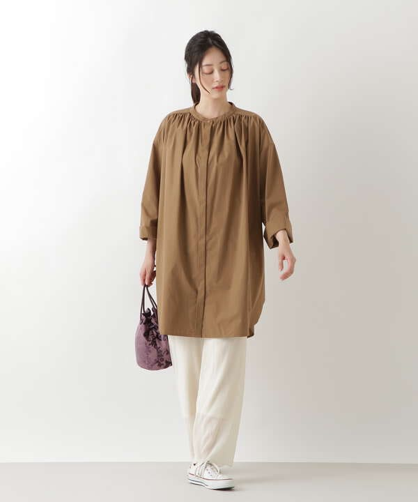 楊柳シアーイージーパンツ