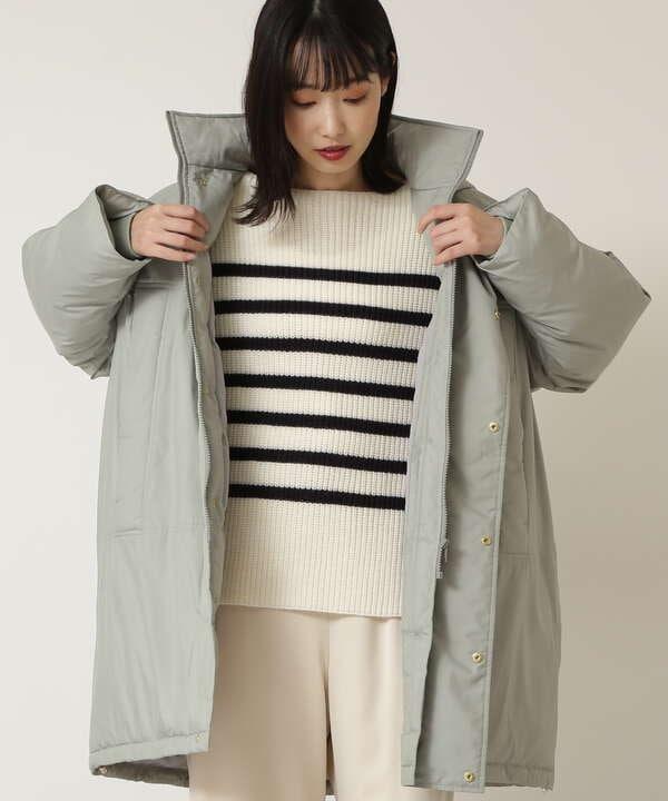 フォルム中綿コート