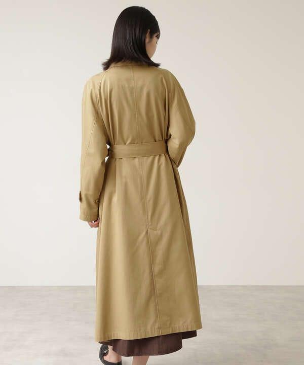 キュプラ混バルマカーンコート