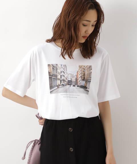 オーガニックコットンフォトTシャツ
