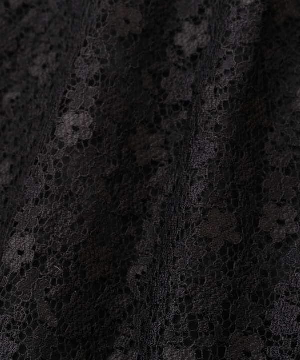 【美人百花5月号 掲載商品】フレアスリーブレースブラウス